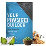 Plix CARDIO 20G Plant Protein + Coconut Water, Post Workout Vegan Protein, Coconut