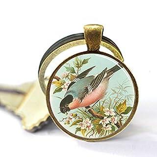 aaaAA Schlüsselanhänger Bullfinch Vogel