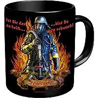 Rahmenlos Tasse, Pompiers heros-dfv mih-café - - Krug Grande