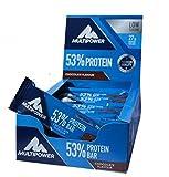 Multipower 53% Protein Bar, Chocolate-Cream, 30 Stück, 1-er Pack (1 x 1,5 KG)