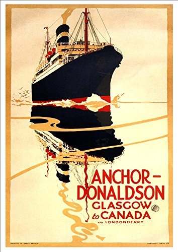 anchor-donaldson-line-glasgow-to-canada-wonderful-a4-glossy-art-print-taken-from-a-rare-vintage-trav