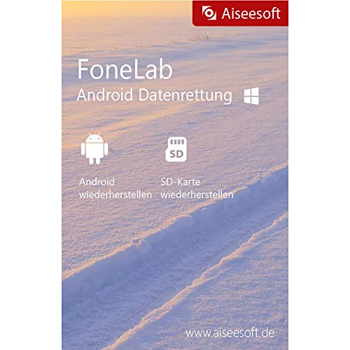 FoneLab für Android-Data Recovery Win Vollversion (Product Keycard ohne Datenträger)