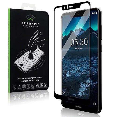 TERRAPIN, Kompatibel mit Nokia 5.1 Plus Tempered Glas, Panzerglas Glas Bildschirmschutzfolie