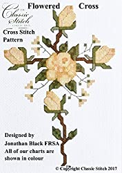 Flowered Cross Cross Stitch Pattern