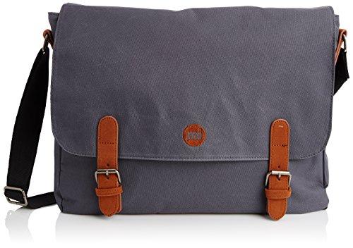 Mi-Pac Messenger Bag Bolsa de Cuerdas para El Gimnasio, 39 cm, 14 litros, Classic Charc