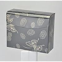 SFSYDDY-Bandejas de acero de color acero inoxidable bandeja de toallas de papel de la bandeja de volumen el hotel wc Sello cuadrado bandeja de papel bandeja de mano E