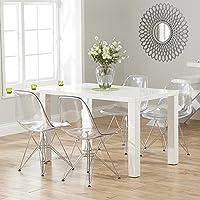 Amazon.es: sillas transparentes - Incluir no disponibles / Comedor ...