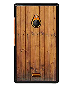 Snapdilla Designer Back Case Cover for Nokia XL (Pratern Abstract Forest Wallpaper Trunk Background)