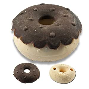 Gomme en forme de beignet donut au chocolat par Iwako
