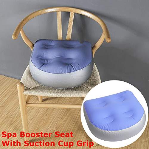 Steellwingsf Aufblasbare Wassereinspritzung Booster Whirlpool-Sitzkissen für Erwachsene