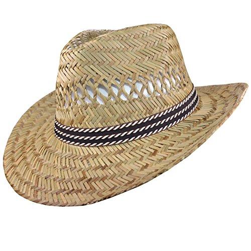 Herren Strohhut Sonnenhut Sonnenschutz Hut