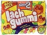 nimm2 Lachgummi – Spaßiges Fruchtgummi mit Vitaminen – 8er Pack (8 x 376 g)