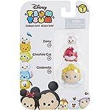 Daisy, Cheshire Cat, & Cinderella Disney Tsum Tsum Series 1 Minifigure by Disney