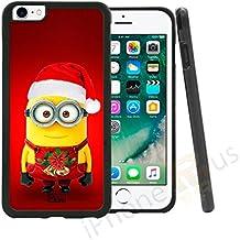Funda de gel de silicona para móvil, con diseño de los minions y tema de Navidad. De On-Case®, samsung Galaxy J5 (2016)