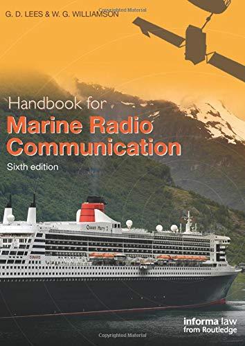 Handbook for Marine Radio Communication Dsc Marine Radio