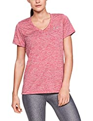 Under Armour Women's Tech Ssv Twist Gym T-Shirt Short Sleeve Light and Breathable Running Apparel