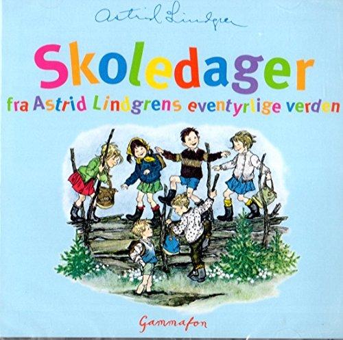 CD Hörbuch Astrid Lindgren NORWEGISCH: Skoledager (Pippi, Lotta, Bullerbü, Madita)