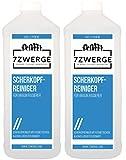 7Zwerge Scherkopfreiniger Reinigungsflüssigkeit für Braun Rasierer Nachfüllflüssigkeit (2 x 1000 ml)