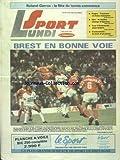 SPORT LUNDI du 29/05/1989 - ROLAND-GARROS - LA FETE DU TENNIS COMMENCE - FOOT - BREST EN BONNE VOIE - RUGBY - TOULOUSE UN BEAU CHAMPION - GIRO - LE MAILLOT CHANGE D'EPAULES - TOUR D'EMERAUDE - JEAN GUERIN - HICKENHEIM - LA MORT D'UN PILOTE