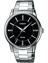 Casio Collection Herren Armbanduhr MTP-1303PD-1AVEF, schwarz