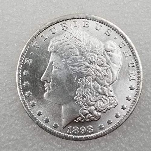 DDTing 1898 Liberty Antique Morgan S Dollars - große amerikanische Münze - US Old Coins - USA Original Morgan Unzirulated Us Mint goodService -
