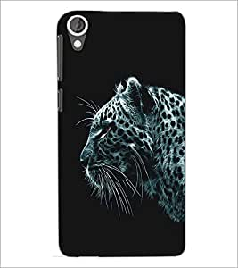 HTC DESIRE 820 LEAPORD Designer Back Cover Case By PRINTSWAG