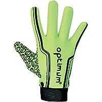 OPTIMUM Velocity Thermal Full Stik Mitt Rugby Hockey Glove Fluo/Black