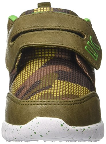 Lumberjack Mosh, Sneakers basses garçon Verde (Military/Acid Green)