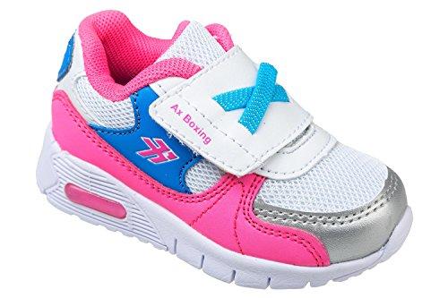 gibra, Sneaker bambine Rosa (rosa/bianco)
