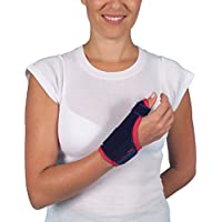 TopLine Daumen- und Handgelenkbandage, mit Stützplatte, bietet Kompression / Wärme / Stützung, bei Verletzungen... preisvergleich bei billige-tabletten.eu