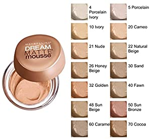 Maybelline Dream Matte Mousse Foundation Nude 21