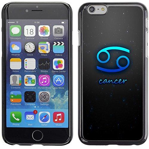 Graphic4You Aquarius Wassermann Horoskop Tierkreis Zeichen Design Harte Hülle Case Tasche Schutzhülle für Apple iPhone 6 Plus / 6S Plus Cancer
