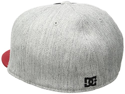 DC Shoes Herren Hat Ya Heard M BLK Black/ Light Heather Grey/ Chi