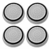 RotSale® 4x Weiß Silikon Analogstick-Aufsätze für die Playstation PS Xbox Leuchtend Grün in der Dunkelheit