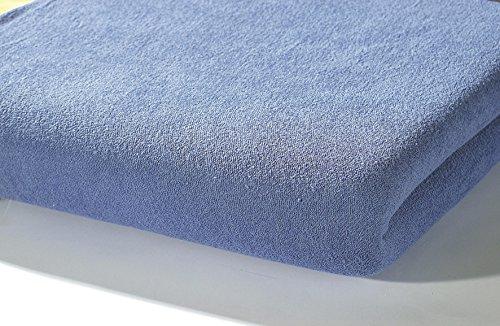Preisvergleich Produktbild Alvi 93528 Spannlaken Trikot, royalblau