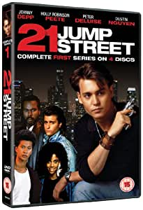 21 jump street season 1 dvd johnny depp peter deluise dustin nguyen holly - 21 jump street box office ...