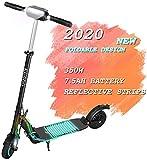 E-Scooter Klappbar Elektroroller Scooter, S1 PRO 350W, 30KM, 30 KM/H, 7,8 AH Li-Ionen-Akku, LCD E-Roller Jugendliche und Erwachsene Elektroscooter