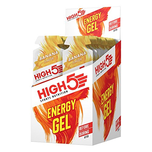 High5 Energy Gel Banana Blast (Box of 20), 1er Pack (1 x 760 g)