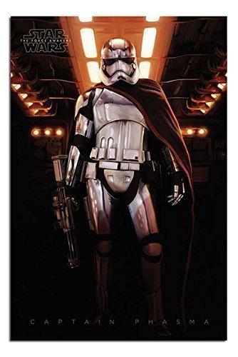 der Sith Captain Phasma Poster, laminiert, glänzend, 91,5 x 61 cm x 61 cm) ()