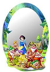 Idea Regalo - Biancaneve E I Sette Nani - Walt Disney Poster Specchio Decorativo (21 x 15cm)