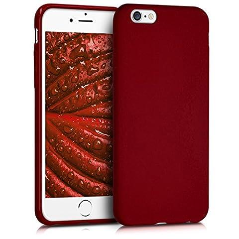 kwmobile Étui en TPU silicone élégant pour Apple iPhone 6