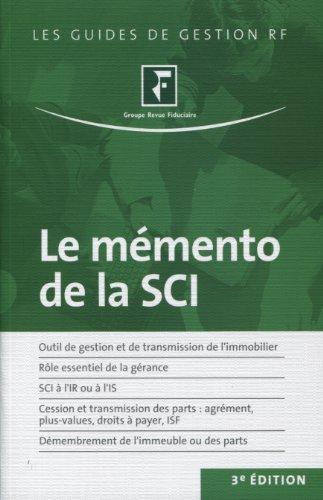 Le mémento de la SCI par Groupe Revue Fiduciaire
