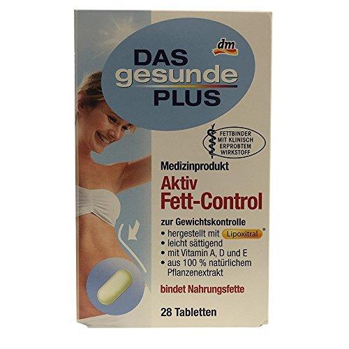DAS gesunde PLUS Aktiv Fett Control zur Gewichtskontrolle (28 Tabletten)