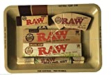 Raw Mini Tray, Papers, Tips, Mat Smoking Set Deal a Perfect Gift For You or Your Loved Ones - Sold By Trendz