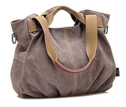 2015 Frauenhandtasche Schultertasche Messenger Tasche Frisches Design Tasche Braun