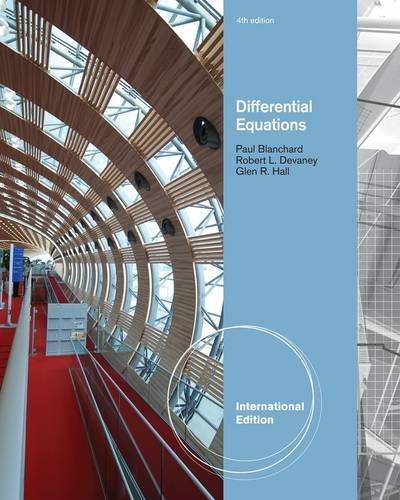Differential Equations by Paul Blanchard (2011-11-23)