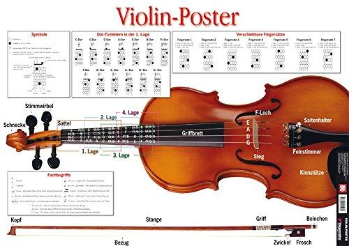Violin Poster. Violine