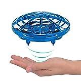 KOBWA Mini Drones para niños UFO Drone Recargable Mini Quadcopter Control de Movimiento Drone Volador Juguetes con luz LED Principiante RC Helicóptero Regalos para Niños Niños Adultos