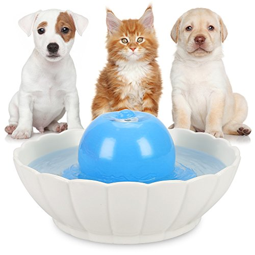hommii-ceramic-pet-water-fountain-for-dogs-and-cats-lotus-or-ball-shape-21l