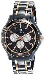 Titan Analog Black Dial Mens Watch-90020KD02J